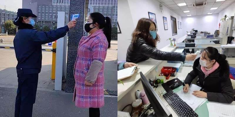 2.temperature checking