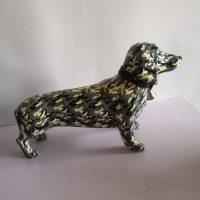2.Fiberglass Dog