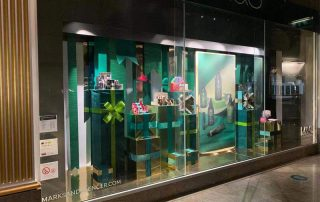 Ribbon Window Display
