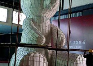 2.fiberglass statue